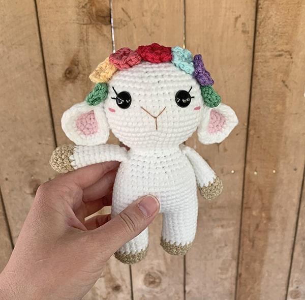 Baby Knitting Patterns Amigurumi sheep - #Amigurumi #Sheep... | 590x600