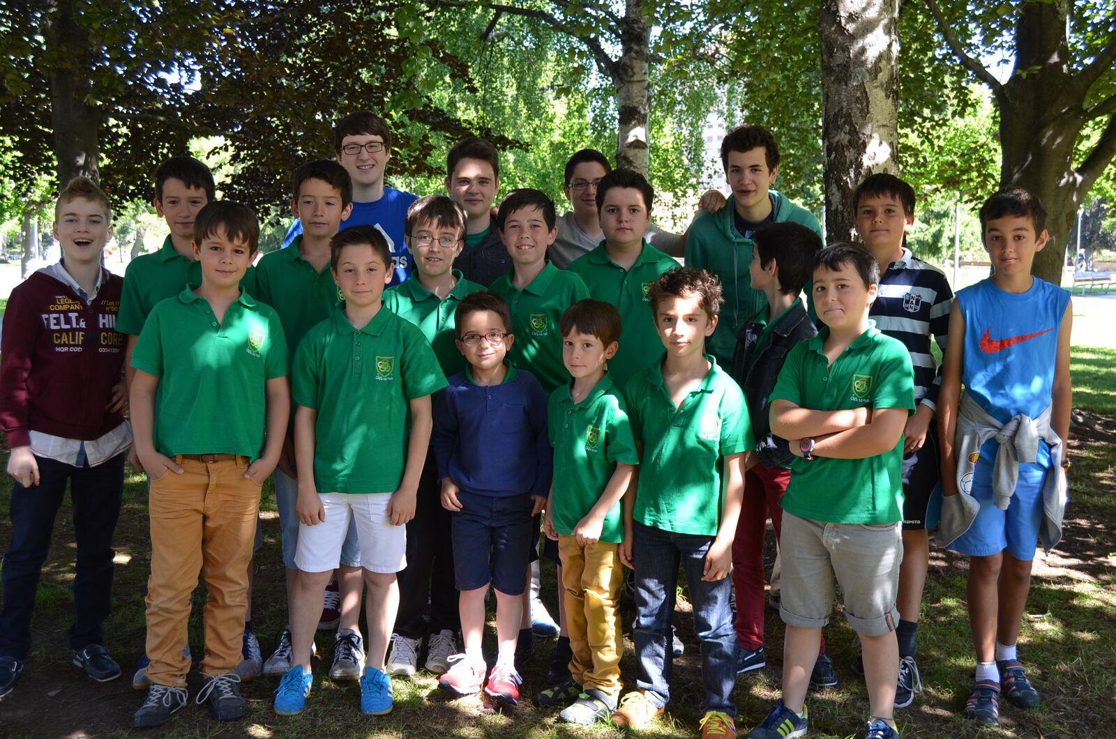 Sección de Ajedrez Oberena: junio 2015