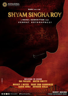 Shyam Singha Roy First Look Poster