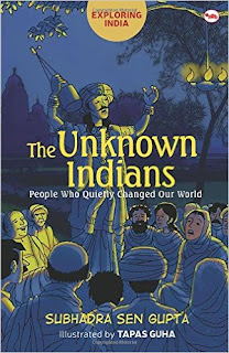 Books: Exploring India: The Unknown Indians by Subhadra Sen Gupta (Age: 10+ years)