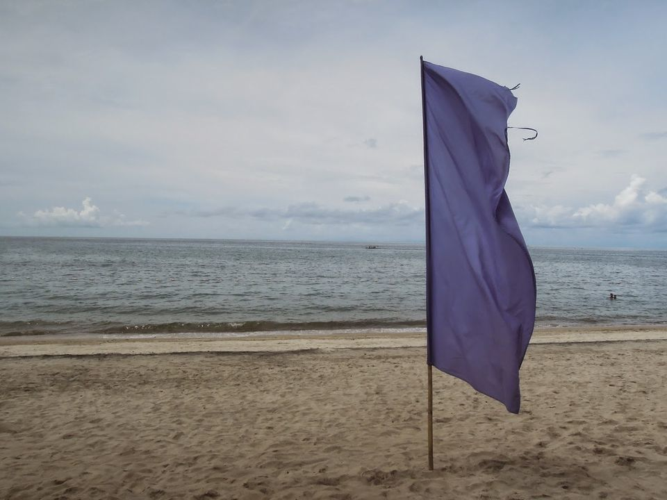 Flaglets at Laiya Coco Grove Beach Resort