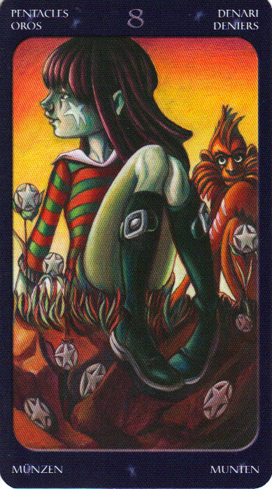 Eight of Pentacles as someone's libido? - Aeclectic Tarot Forum