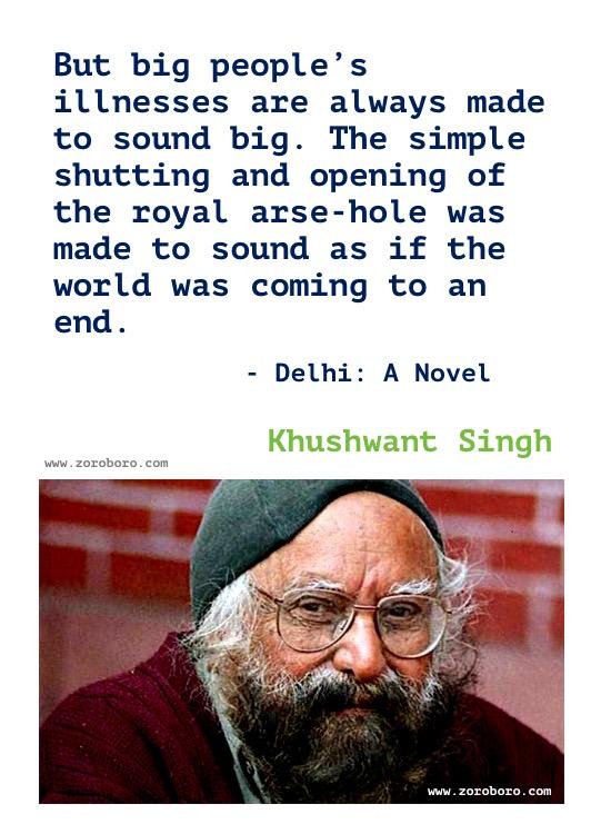 Khushwant Singh Quotes, Khushwant Singh Writing, Khushwant Singh Books Quotes, Khushwant Singh