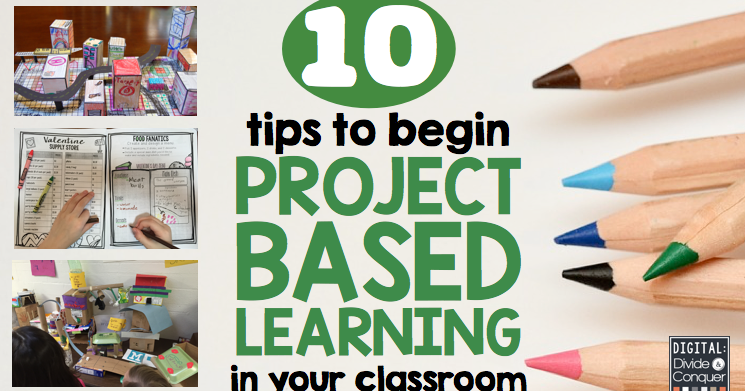 Classroom Design Project Based Learning : Project based learning in your classroom digital divide