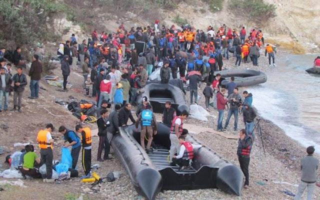 Θερμό καλοκαίρι σε εισροές μεταναστών και μηδαμινή αντίδραση Ε.Ε.