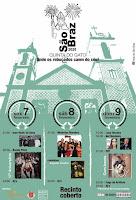 Cartaz Festa de São Bráz 2020 em Aveiro