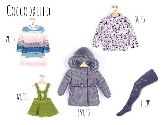 ubranka dla dziewczynek coccodrillo