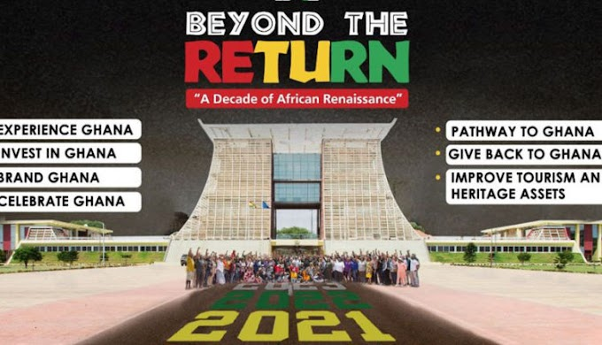 Minister of Tourism, Arts and Culture, Barbara Oteng-Gyasi Inaugurates 'Beyond The Return' Steering Committee