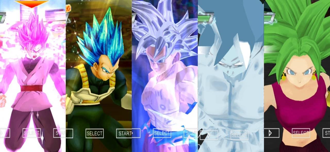 Dragon Ball Super Goku and Vegeta New forms