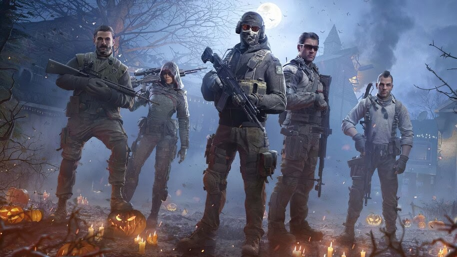 Call Of Duty Mobile Squad Soldiers 4k Wallpaper 5 1327
