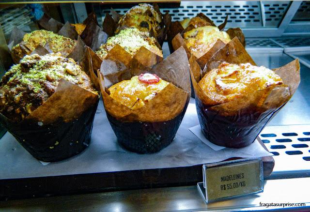 Madeleines da padaria e confeitaria Galo Padeiro, Recife