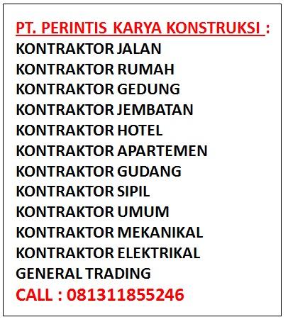 Nama Perusahaan Kontraktor Indonesia