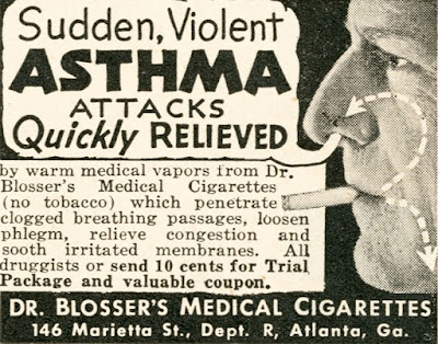 Dr Blosser's Medical Cigarettes