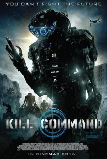 Portada de la película Kill Command