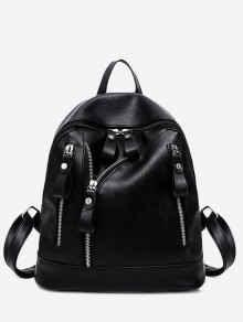 zaful crni ruksak