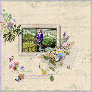 Creative Team, Annemarie, for Heartstrings Scrap Art -  Botanical Free with Purchase Kit