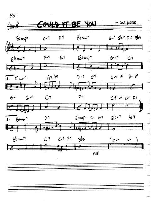 Partitura Violín Cole Porter