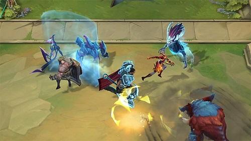 Chiến Trường Chân Lý là 1 trong những dạng bàn cờ trên nền tảng League of Legends