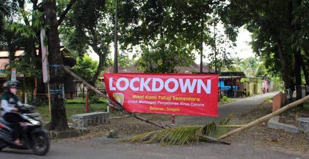 Jawa Barat Terapkan Lockdown Tingkat RT/RW