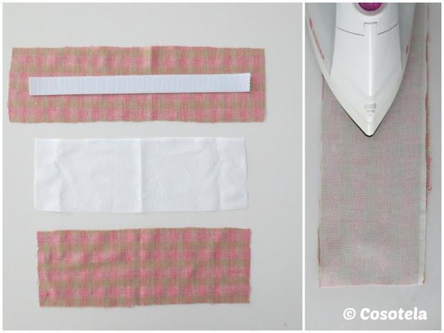 preparar piezas cintura