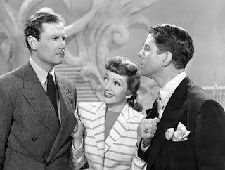 The Palm Beach Story - Claudette Colbert, Joel McCrea, and Rudy Vallee