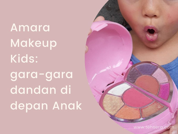 review amara makeup kit