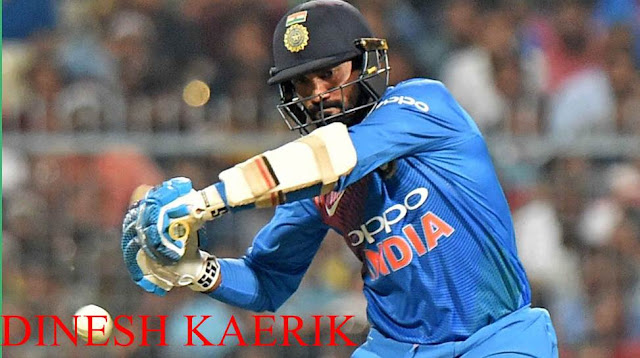 Dinesh Karthik playing his first World Cup match 4,891 days later