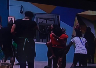 #BBNaija: Bisola And Bally Are Back In The House