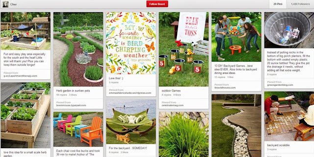 Outdoor & Garden, Pinterest Board