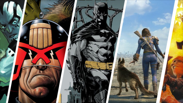 News Collider - Board Game News - Batman, Fallout, Judge Dredd, Pathfinder and Critical Role