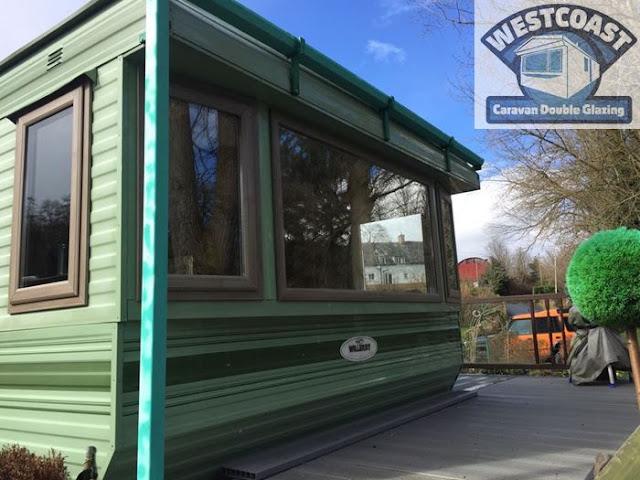 double glazing for static caravans