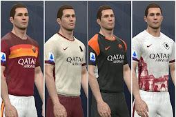 AS Roma Kits Season 2020/2021 - PES 2017