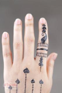 Finger modern mehndi designs 2019
