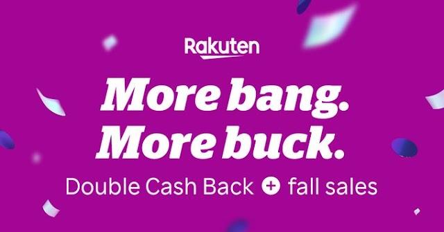 موقع Rakuten للكاش باك مسوي عرض استرجاع ٣ اضعاف القيمة