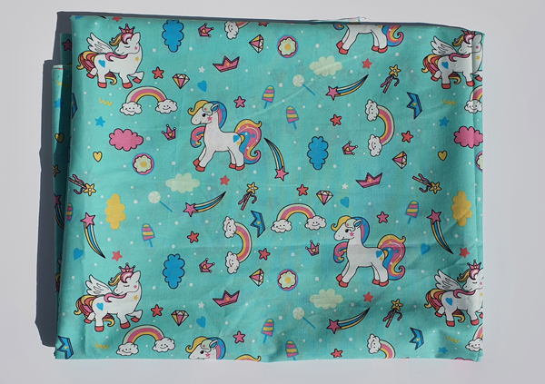 Unicorn Poplin Cotton Fabric