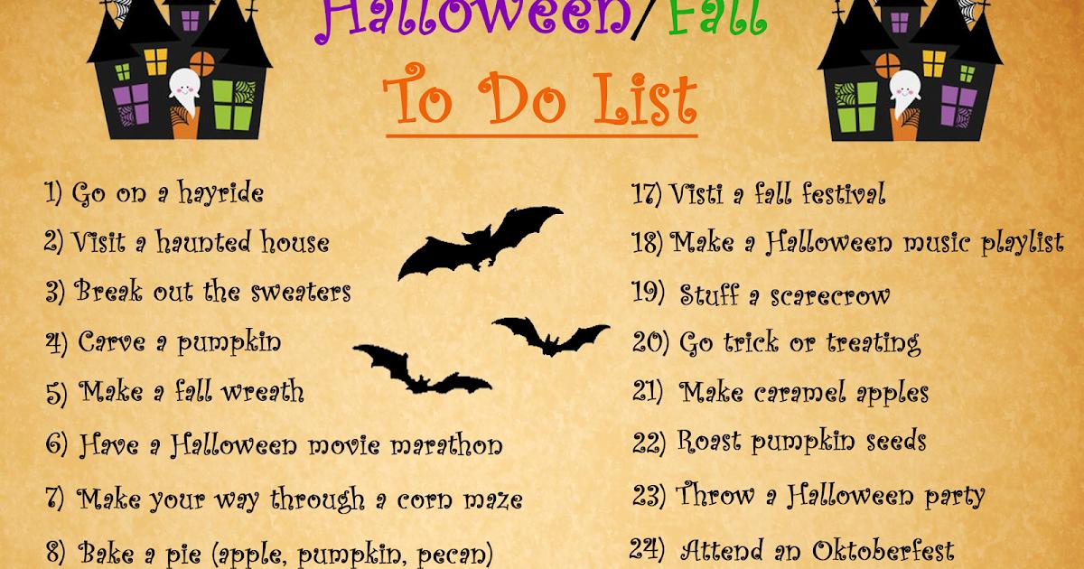 Halloween Music Playlist.P M Dooling S Blog Halloween Month Halloween Fall To Do List
