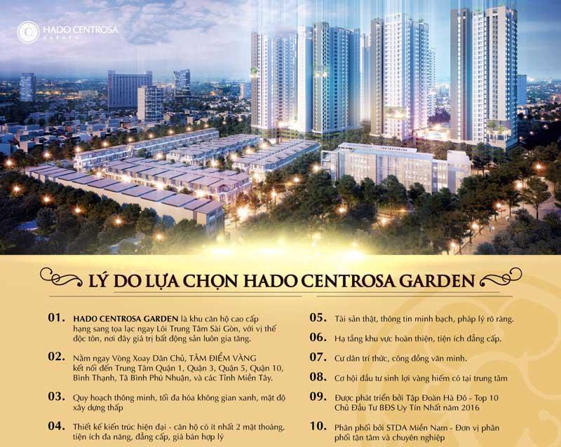 lý do nên mua hado centrosa garden