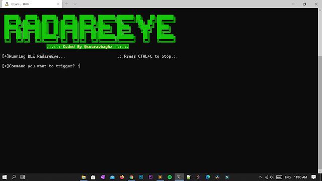 RadareEye لفحص wifi والبلوتوث والأجهزة القريبة منك