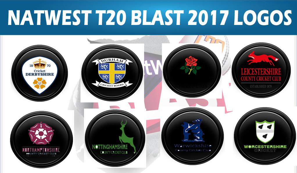 NATWEST T20 BLAST NORTH ZONE LOGOS 2017