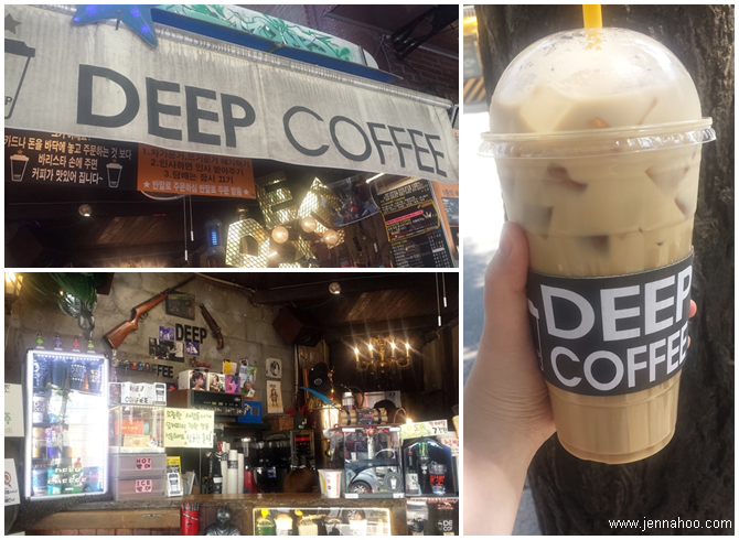 Deeo Coffee in Hongdae