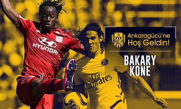 Oficial: El Ankaragücü ficha a Bakary Koné