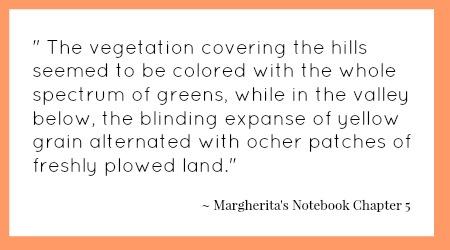 book quote colorful landscape