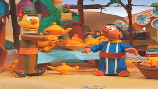 Sesame Street Bert and Ernie's Great Adventures Three Wishes