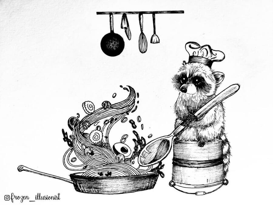 02-The-Foodie-Raccoon-Fiona-Victoria-www-designstack-co