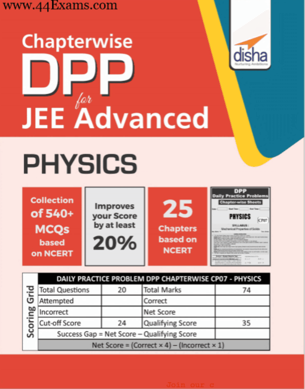 Disha-Physics-Practice-Set-Chapter-Wise-For-JEE-Advanced-Exam-PDF-Book
