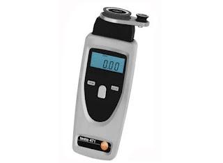 Darmatek Jual Testo 471 Non-contact and mechanical rpm measurement