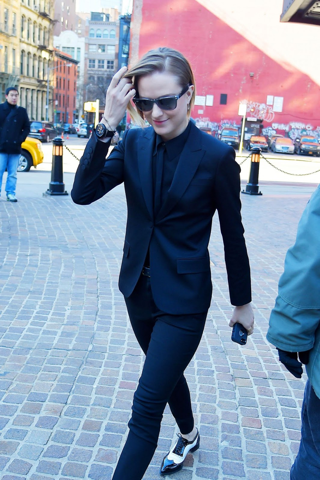 HQ Photos of Evan Rachel Wood out and about in Tribeca
