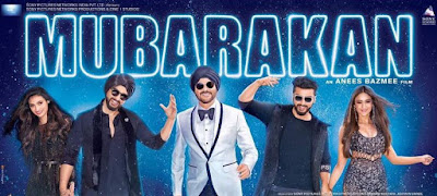 Review: Mubarakan: An entertaining comedy movie! ***