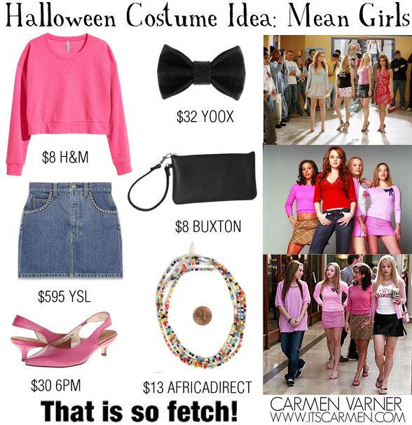 fe7df832071 Halloween Costume Idea: The Plastics from Mean Girls / Carmen Varner ...