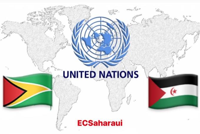 اللجنة الرابعة للأمم المتحدة : جمهورية غيانا التعاونية تجدد دعمها الثابت لحق الشعب الصحراوي في تقرير المصير.
